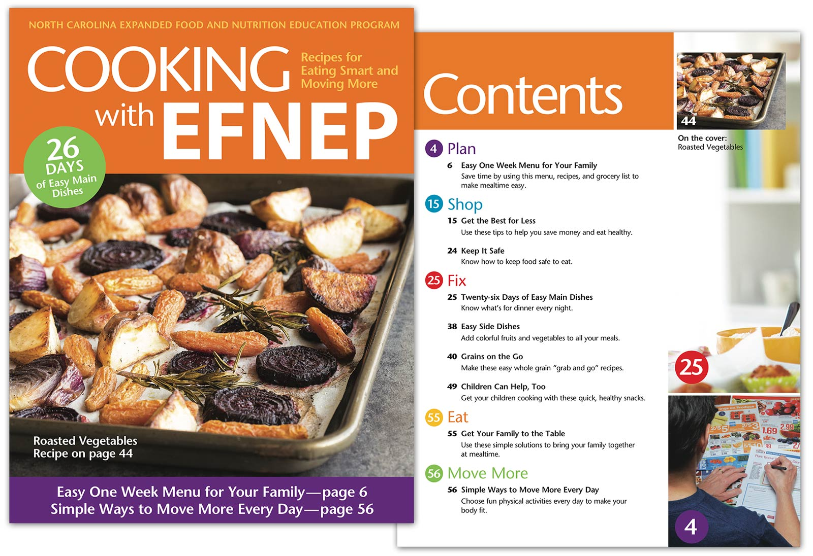 cookbook pages cover
