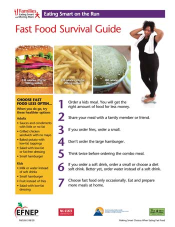 EFNEP_Handout-Fast_Food_Survival