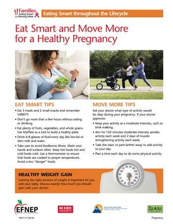 EFNEP_Handout-Healthy_Pregnancy