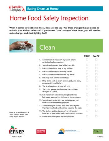 EFNEP_Handout-Home_Food_Safety_Inspection