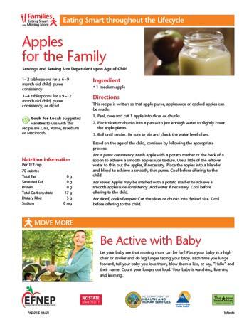EFNEP_Handout-Apples_for_Family