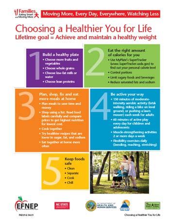 EFNEP_Handout-Healthier_You_Goal
