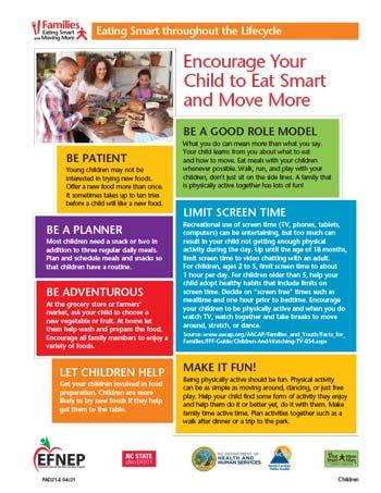 EFNEP_Handout-Encourage_Child