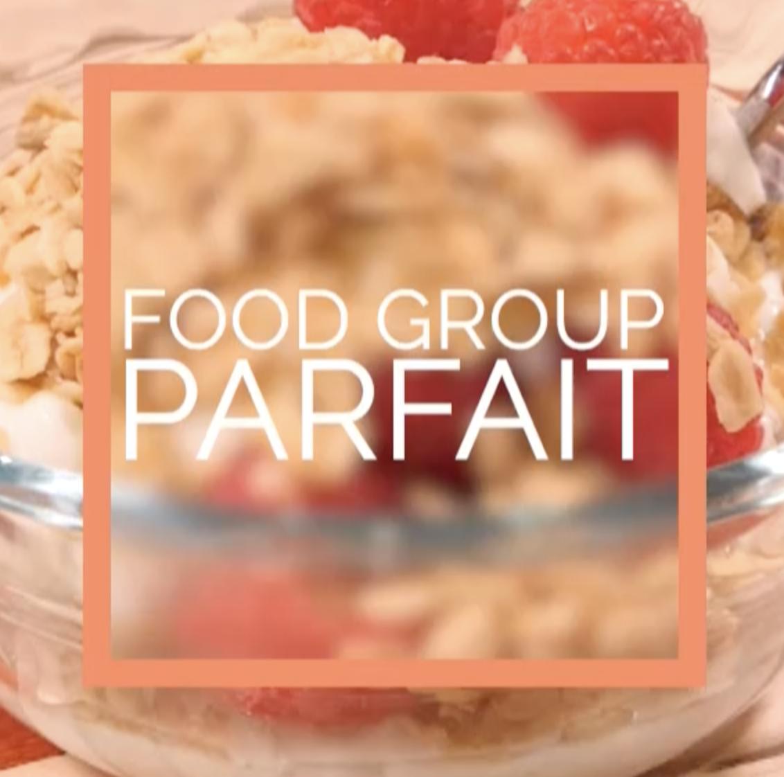 food group parfait