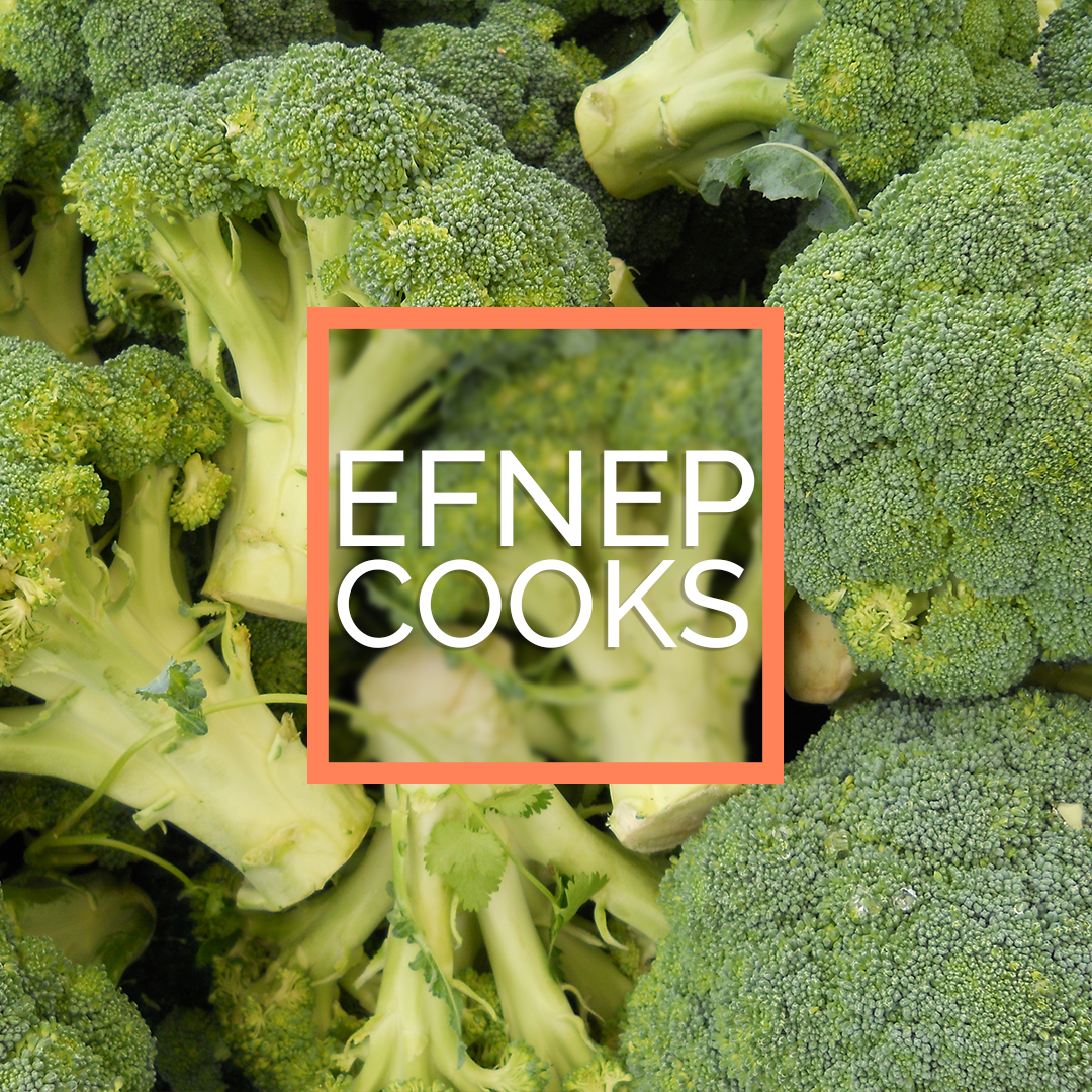 EFNEP cooks logo image with broccoli