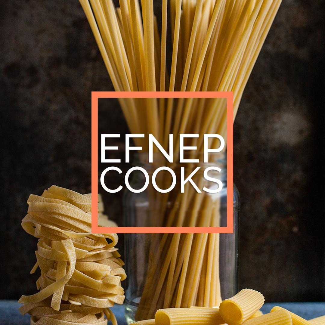 EFNEP cooks pasta image